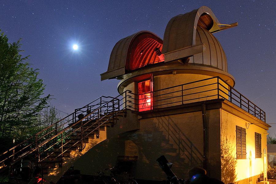 Die Sternwarte Aachen beim Astronomietag 2014
