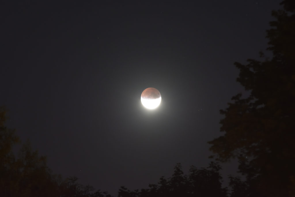 verfinsterter Mond am 16.07.2019